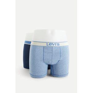 Levi'S Boxerkalsonger Levi'S Men Vintage Heather Boxer Brief 2p Blå
