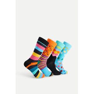 Happy Socks 4-Pack Strumpor Classics Gift Box Multi