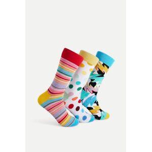 Happy Socks 3-Pack Strumpor Mixed Pride Socks Gift Set Multi