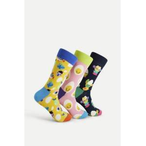 Happy Socks 3-Pack Strumpor Easter Gift Box Multi