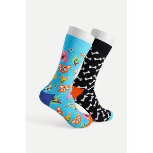 Happy Socks 2-Pack Strumpor Dog Gift Box Multi
