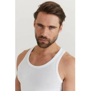 Boss Linne 2-Pack Tank Top Vit