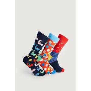 Happy Socks Strumpor 3-Pack Father´s Day Socks Gift Set Multi  Male Multi