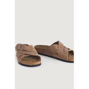 Birkenstock Sandaler Lugano Brun