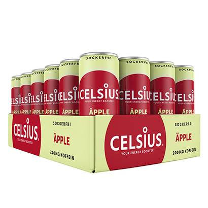 Celsius 24 x Celsius, 355 ml, Äpple
