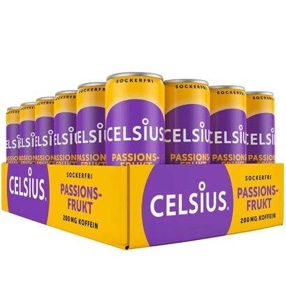 Celsius 24 x Celsius, 355 ml, Passionsfrukt