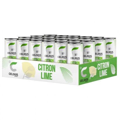 Celsius 24 x Celsius, 355 ml, Citron Lime
