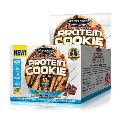 Muscletech 6 x Muscletech Protein Cookie, 92 g