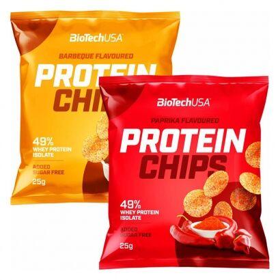 BioTechUSA Protein Chips, 25 g