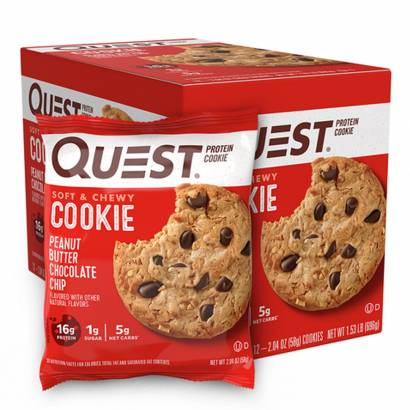 Garmin 12 x Quest Nutrition Protein Cookie