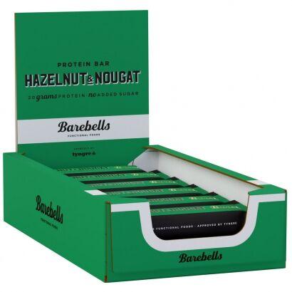 Barebells 12 x Barebells Protein Bar, 55 g, Hazelnut & Nougat