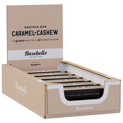 Barebells 12 x Barebells Protein Bar, 55 g Caramel and Cashew