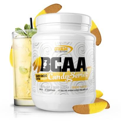 GAAM Nutrition Candy Series BCAA, 400 g, Twisted Banana Toffee