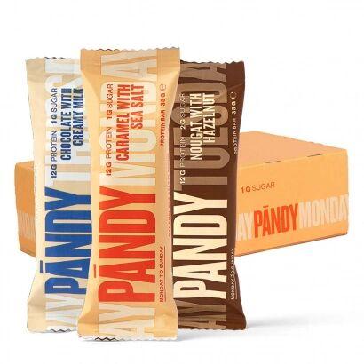 Candy 18 x Pandy Protein Bar, 35 g - Mixlåda