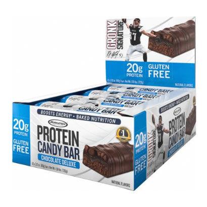 Muscletech 12 x Muscletech Candy Bar, 60 g