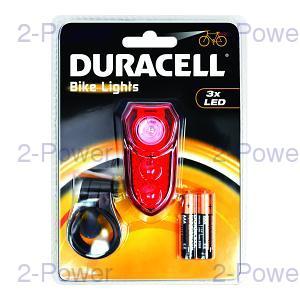 Duracell 3 LED Baklykta Cykel