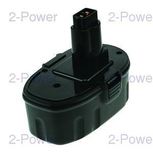 2-Power Verktygsbatteri Dewalt 18V 3000mAh (DW9095)
