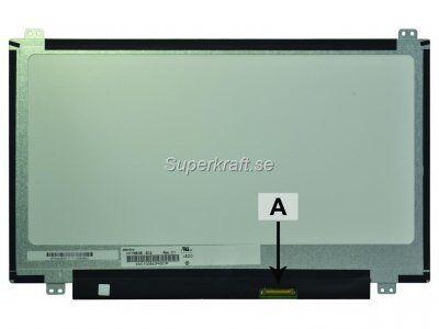 PSA Laptop Skärm 11.6 tum  WXGA HD 1366x768 LED Matte (N116BGE-E32)