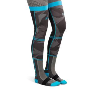 KLIM Strumpor Klim Aggressor Cool -1.0 Knee Brace Camo - Blå