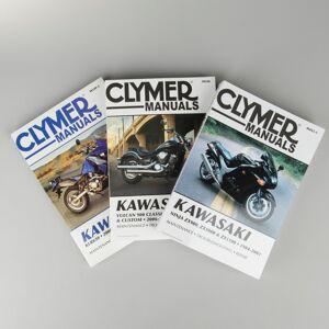 Clymer Reparationshandbok Clymer Kawasaki sök per modell