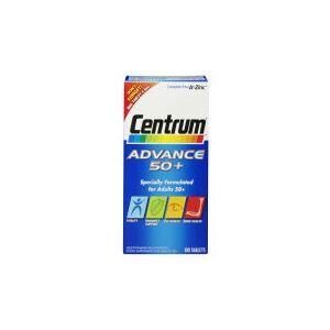 Centrum Advance 50 Plus Multivitamin Tablets – (100tabletter)