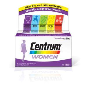 Centrum Women Multivitamin Tablets – (60tabletter)