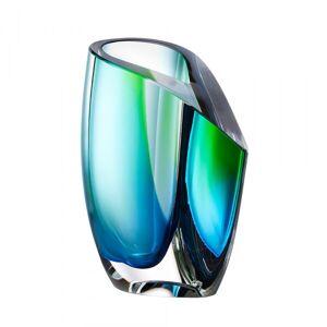 Kosta Boda Mirage Vas Grön/blå, H 15,5cm