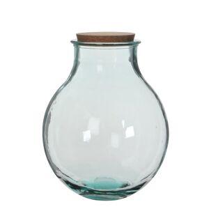 Mica Decorations Olly Vas - H38 X Ø29 Cm - Återvunnet Glas - Transparent