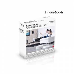 Innovagoods Smart Robotdammsugare Rovac 1000 Vit