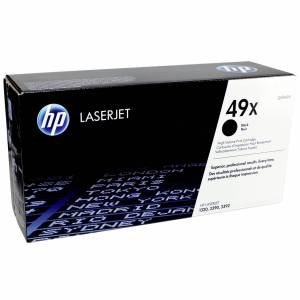 HP Toner Q 5949 X Svart 49 X