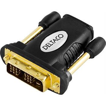 Deltaco adapter från DVI till HDMI