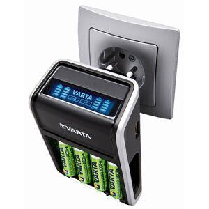 Varta LCD-laddset med 4 st AA-batterier 2100 mAh + USB-utgång