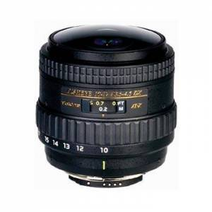 Tokina AT-X 10-17/3,5-4,5 DX NH Fisheyezoom till Nikon