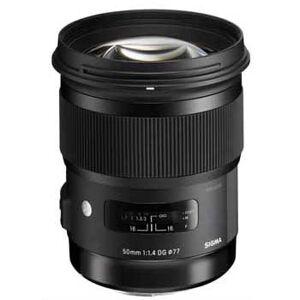 Sigma 50/1,4 DG HSM Art för Canon AF