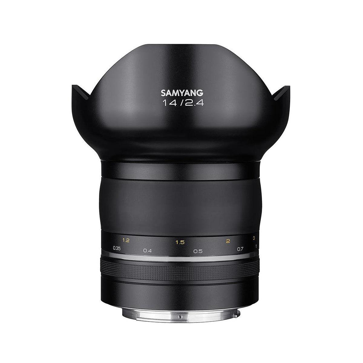 Samyang Premium XP 14/2,4 för Canon EF-fattning