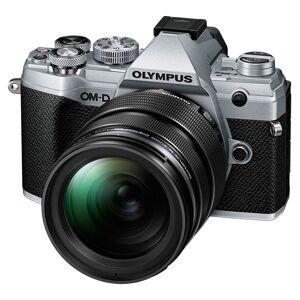 Olympus E-M5 Mark III kamerahus silver +  M.Zuiko Digital ED 12-40/2,8 PRO