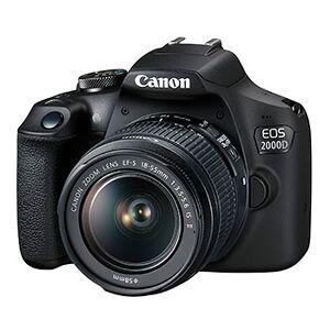 Canon EOS 2000D hus + EF-S 18-55/3,5-5,6 IS II