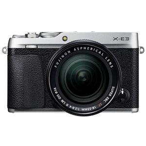 Fujifilm X-E3 silver kamerahus + XF 18-55/2,8-4 R LM OIS