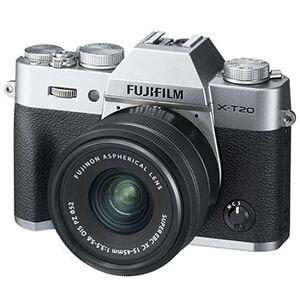 Fujifilm X-T20 kamerahus silver + Fujinon XC 15-45/3,5-5,6 OIS PZ