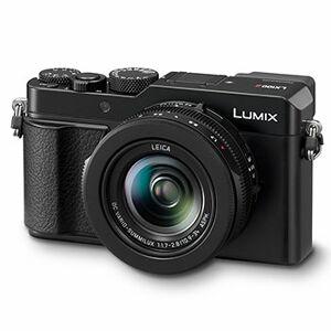 Panasonic Lumix DC-LX100 II, svart