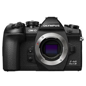 Olympus E-M1 Mark III kamerahus svart