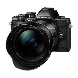 Olympus E-M10 Mark III kamerahus svart + M.Zuiko Digital 12-200/3,5-6,3
