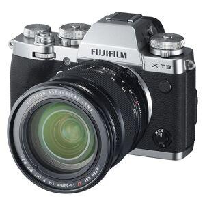 Fujifilm X-T3 kamerahus, silver + XF 16-80/4,0 R OIS WR