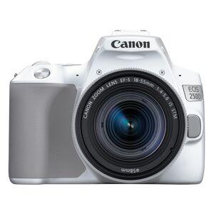 Canon EOS 250D hus, vit + EF-S 18-55/4-5,6 IS STM