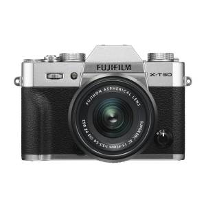 Fujifilm X-T30 kamerahus, silver + Fujinon XC 15-45/3,5-5,6 OIS PZ