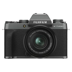 Fujifilm X-T200 kamerahus dark silver + Fujinon XC 15-45/3,5-5,6 OIS PZ