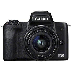 Canon EOS M50 svart kamerahus + EF-M 15-45/3,5-6,3 IS STM + EF 50/1,8 STM + EF-M till EF-adapter