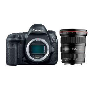 Canon EOS 5D Mark IV kamerahus +  EF 17-40/4L USM