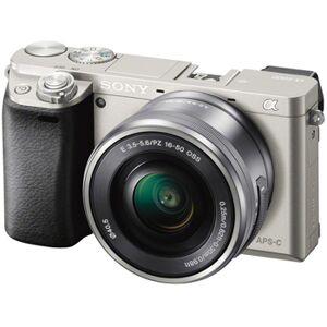 Sony A6000 silver + E PZ 16-50/3,5-5,6 OSS