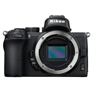 Nikon Z50 kamerahus + adapter FTZ för Nikon F-objektiv